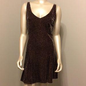 Victoria's Secret velour leopard camisole